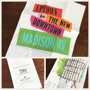 Kate spade ♠️ Madison Ave grand opening poster